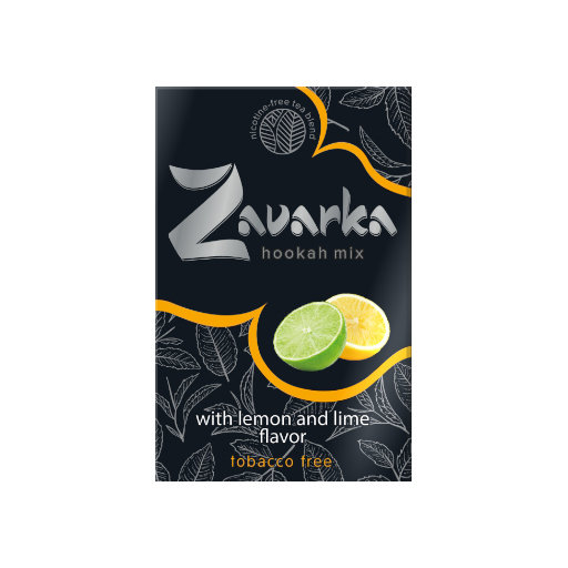 Zavarka - Lemon and lime