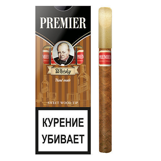 Premier Wood Tip - Whisky