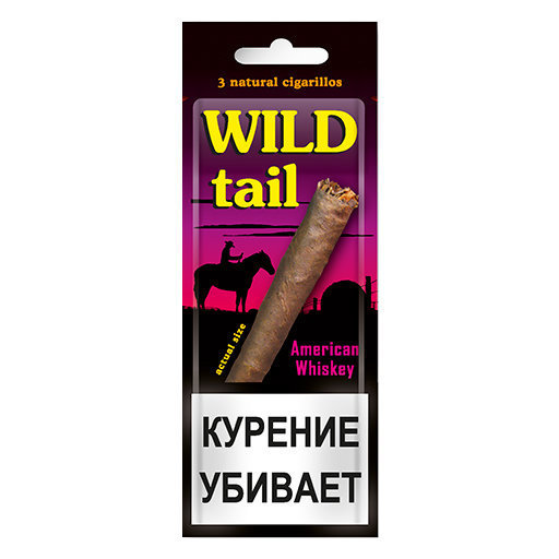 Wild Tail - American Whiskey в упаковке