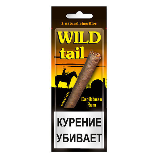 Wild Tail - Caribbeam Rum в упаковке